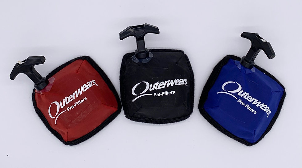 Outerwear Pre-Filter for Pull Start