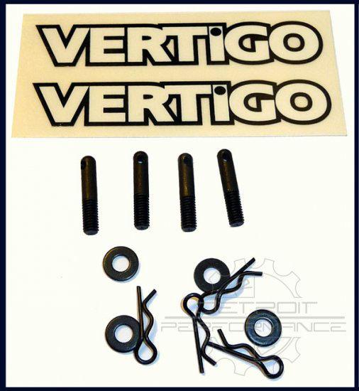 Vertigo Quick Release Gas Tank Mounts for Losi 5ive