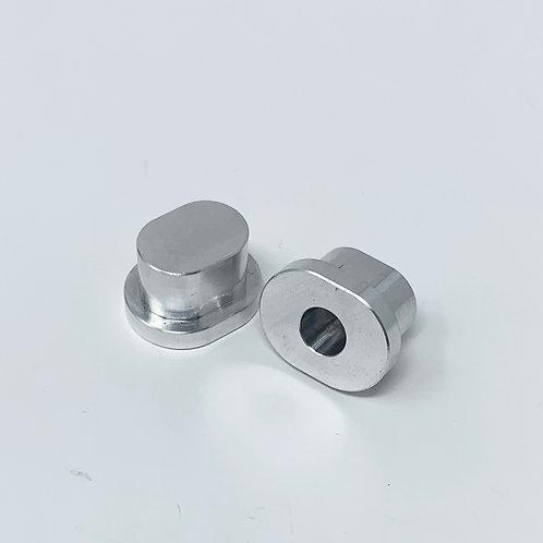 RCMAX billet inserts for Outlaw Hinge pin braces- no offset