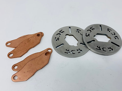 RCR upgraded brakes for Losi 5T