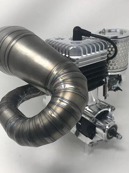 RCMAX 50GT BILLET REED ENGINE - COMPLETE PACKAGE   DETROIT PERFORMANCE
