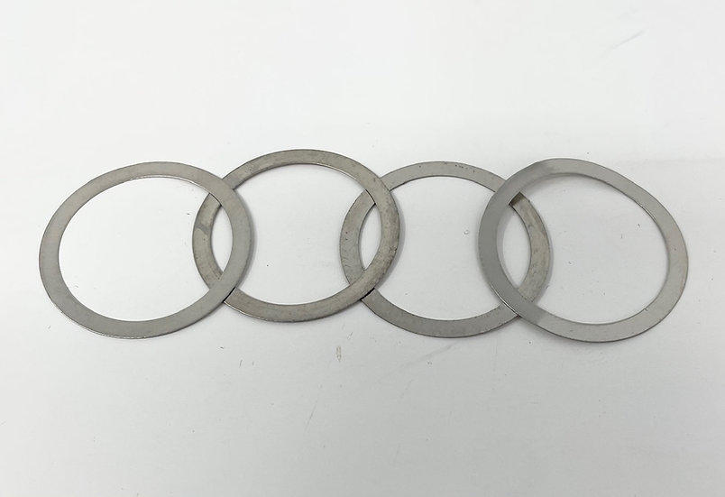 RCMAX differential shims for RCMAX losi bulkheads Set of 4