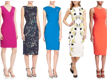 Collect a Clutch of Classic Column Dresses