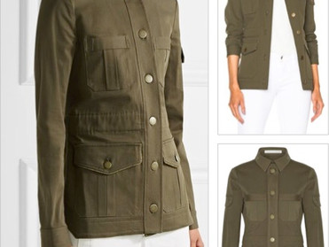 The Comfortable Khaki Camp Jacket