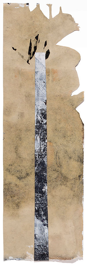 Tower of silence Death Ritual Corpse Death After Life Ressurection Painting Drawing Collage On Paper Daniel Alfacinha Mixed Media