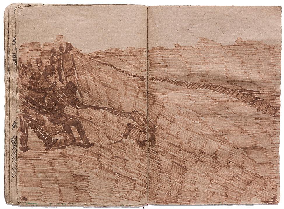 Rescue Corpse Death Time Grid Trap Drawing Artist Book Daniel Alfacinha