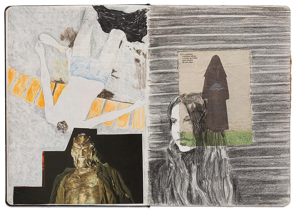 Corpse Witch Taunt Seduction Masturbation Drawing Artist Book Daniel Alfacinha