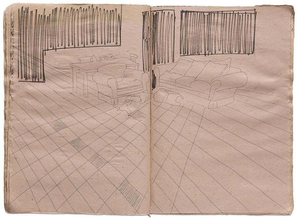 Venus of Willendorf Goddess Gore Corpse Dead body Dead Couple Death Time Grid Trap Drawing Artist Book Daniel Alfacinha
