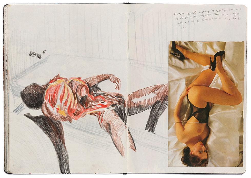 Corpse Death Car Crash Drawing Artist Book Daniel Alfacinha