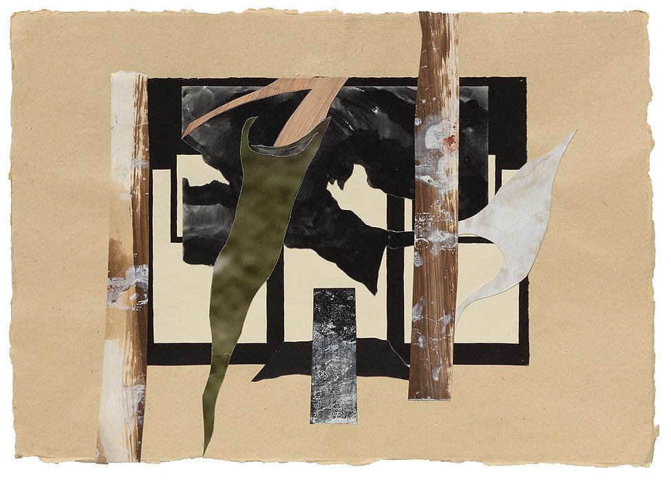 Collage Atlantica Painting on Paper Daniel Alfacinha