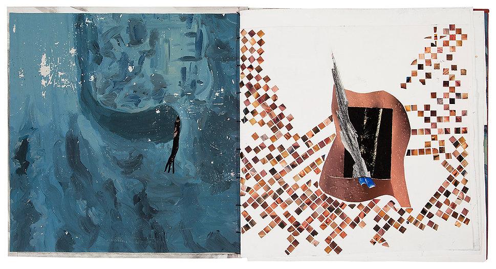 Artist Book Painting Drawing Collage On paper Daniel Alfacinha Mixed MediaMS1801 (9301).jpg
