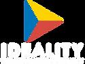 Logo ideality - img+txt+tagwhite - colou