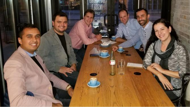 Cafepreneur brings Rafael Prikladnicki to inspire international entrepreneurship exchange POA-Waterl