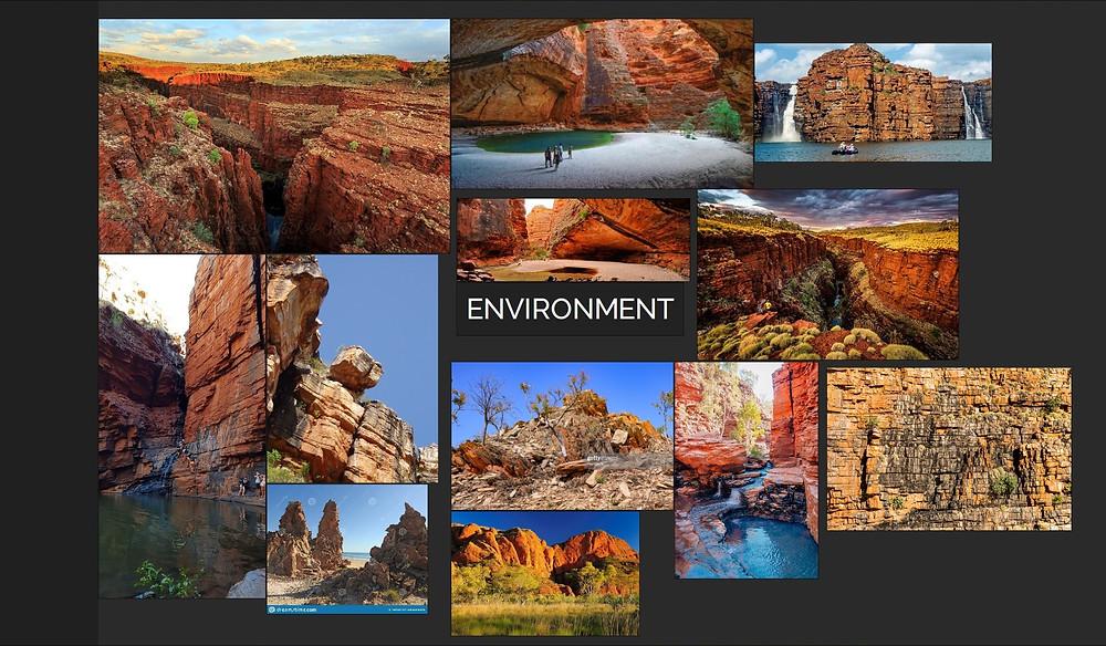 Image showing PureRef Moodboard of Kimberley Australia