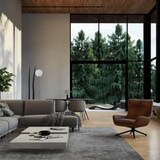 Pine View - Living Room