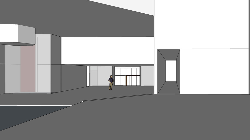 Image of Interior Wall Blocking Sketchup Model. Image by The Lumion Collective.