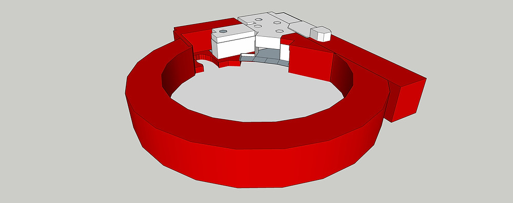 Image of Crimson Sketchup Model. Image by The Lumion Collective.