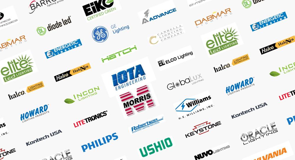 Image of lighting brands