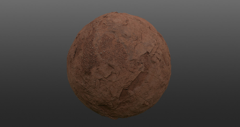 Image Demonstration of terrain base texture. Image by The Lumion Collective.