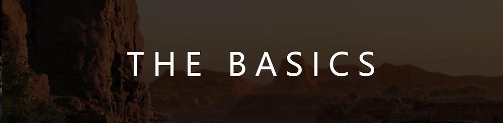 """Title image: """"The Basics"""""""