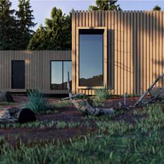 Axel House - Garden Detail