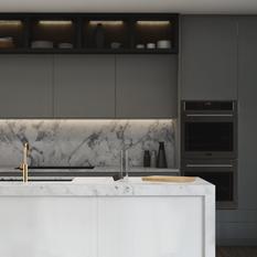 Rubix Apartment - Kitchen