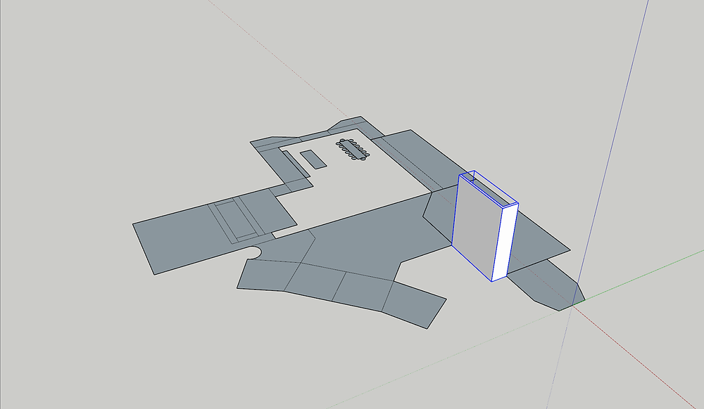 Image of Floor Plan Sketchup Model. Image by The Lumion Collective.