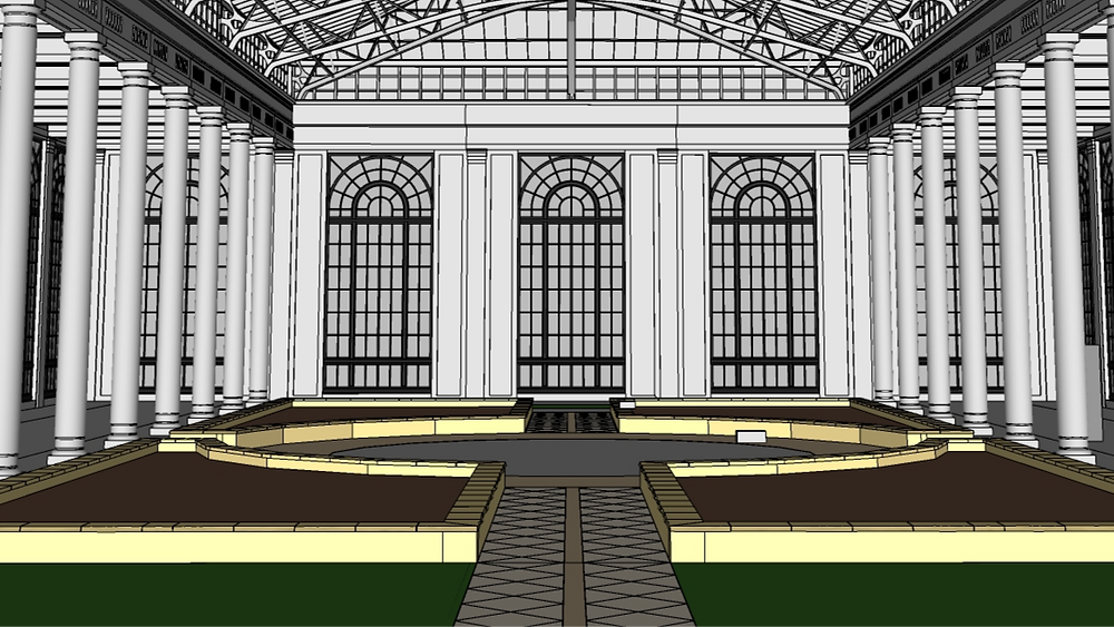 Image of 3D Model of Longwood Garden Bed by The Lumion Collective