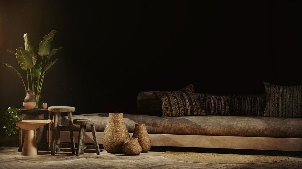 The Studio, Interior render of Scorpia furntire by Ark Visuals