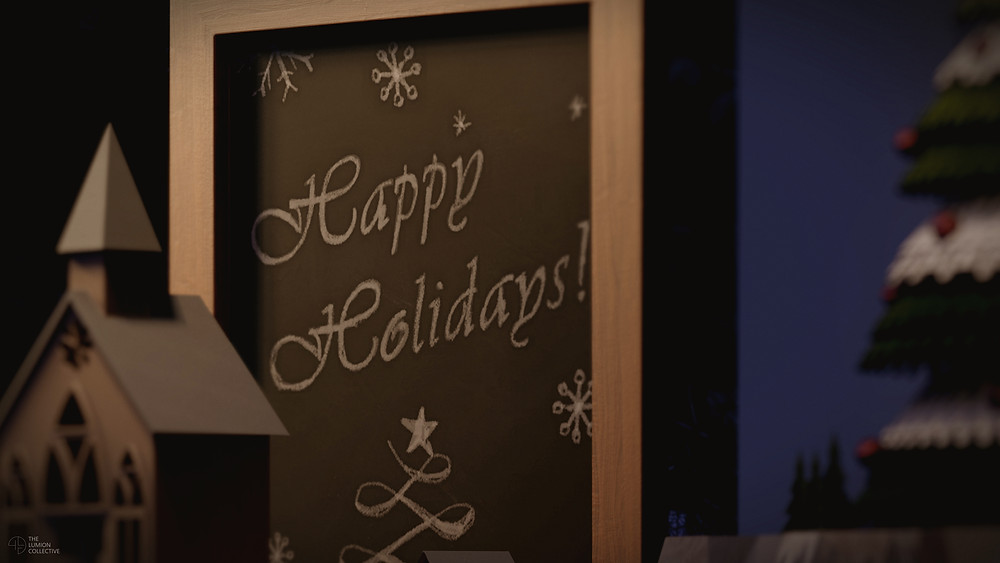 3D Render of Chalkboard, Rendered in Lumion 11 by The Lumion Collective