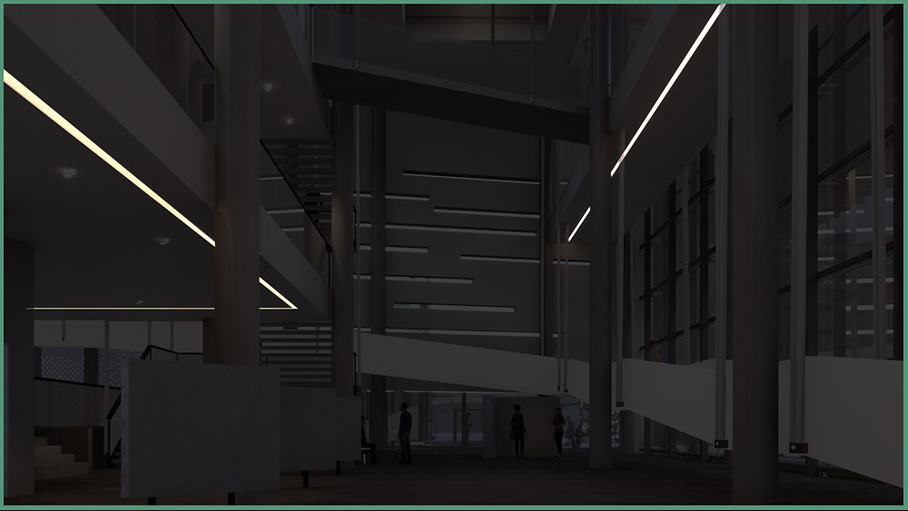 Image showing Area Lights in Museum designed by Obra Visual. Image byThe Lumion Collective