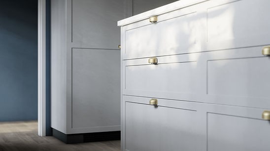 The Craftsman, Close up Visualisation of Kitchen Cabinet Design, Inspired by Ikea Design, Render by Ark Visuals