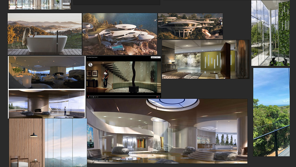 Image of Mood-Board of Architectural References