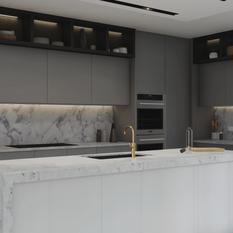 Rubix Apartments - Kitchen