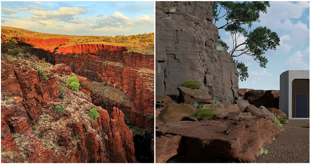 Image showing Comparison between reference image and Lumion scene. Image by The Lumion Collective..