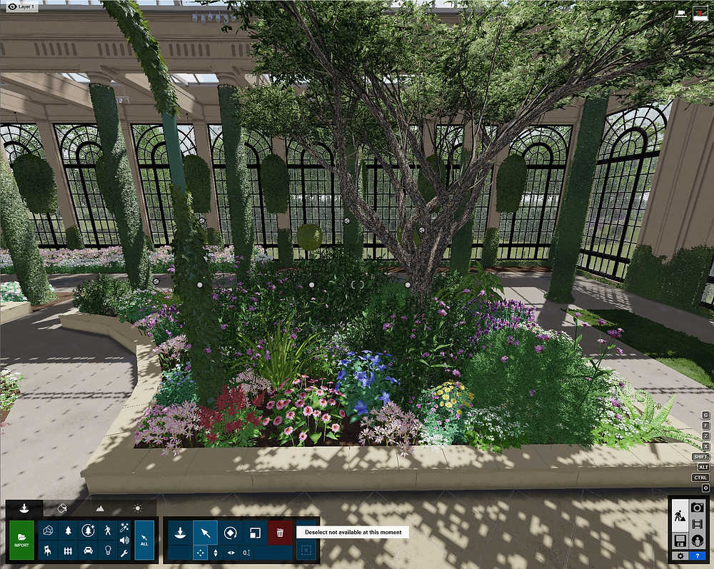 Image of Lumion Quarter Garden Group in Longwood. Image by The Lumion Collective