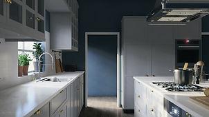 Craftsman, Interior Visualisation Showing Ikea Inspired Kitchen Design, Render By Ark Visuals
