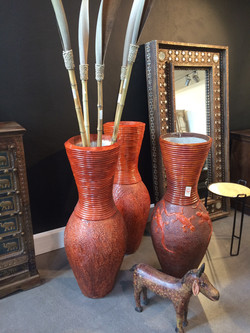 25 - cement vases, Tansania