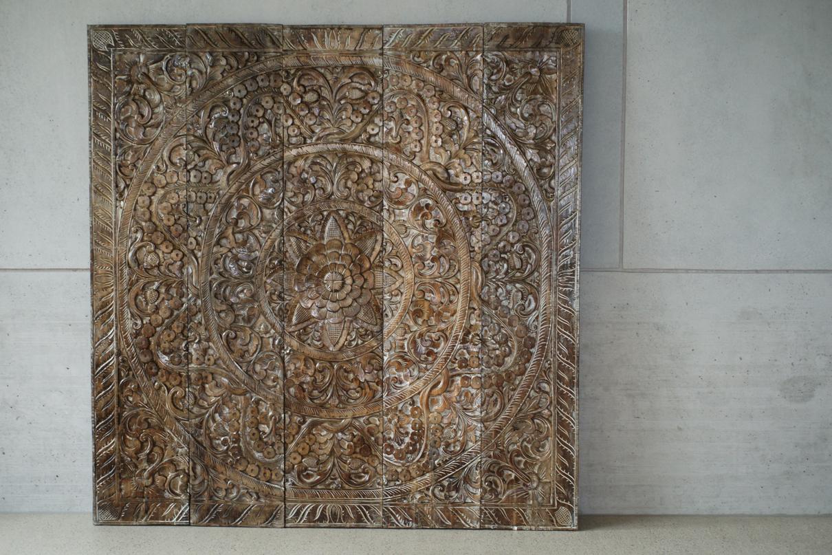 17 - wooden panel, Bali