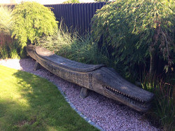 52 - garden impressions - Bali bench