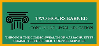 Continuing Legal Education Credits (CLEs) Granted!