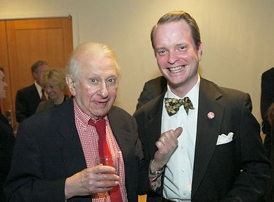 Dr. Joe Plaud and Studs Terkel