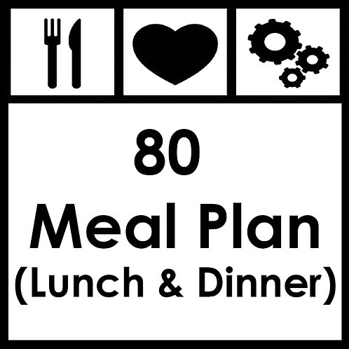 80 Meal Plan - From R7650