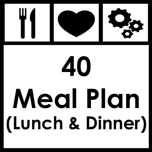 40 Meal Plan - From R3650