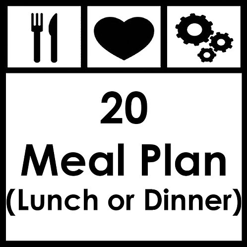 20 Meal Plan - From R2350