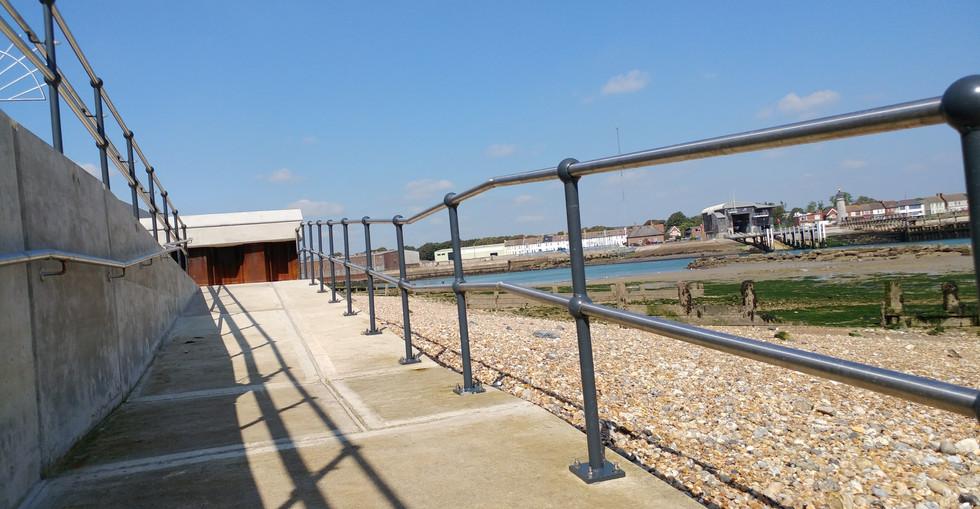 KITE Projects - Shoreham Waterfront - KITE Stainless Steel Handrail