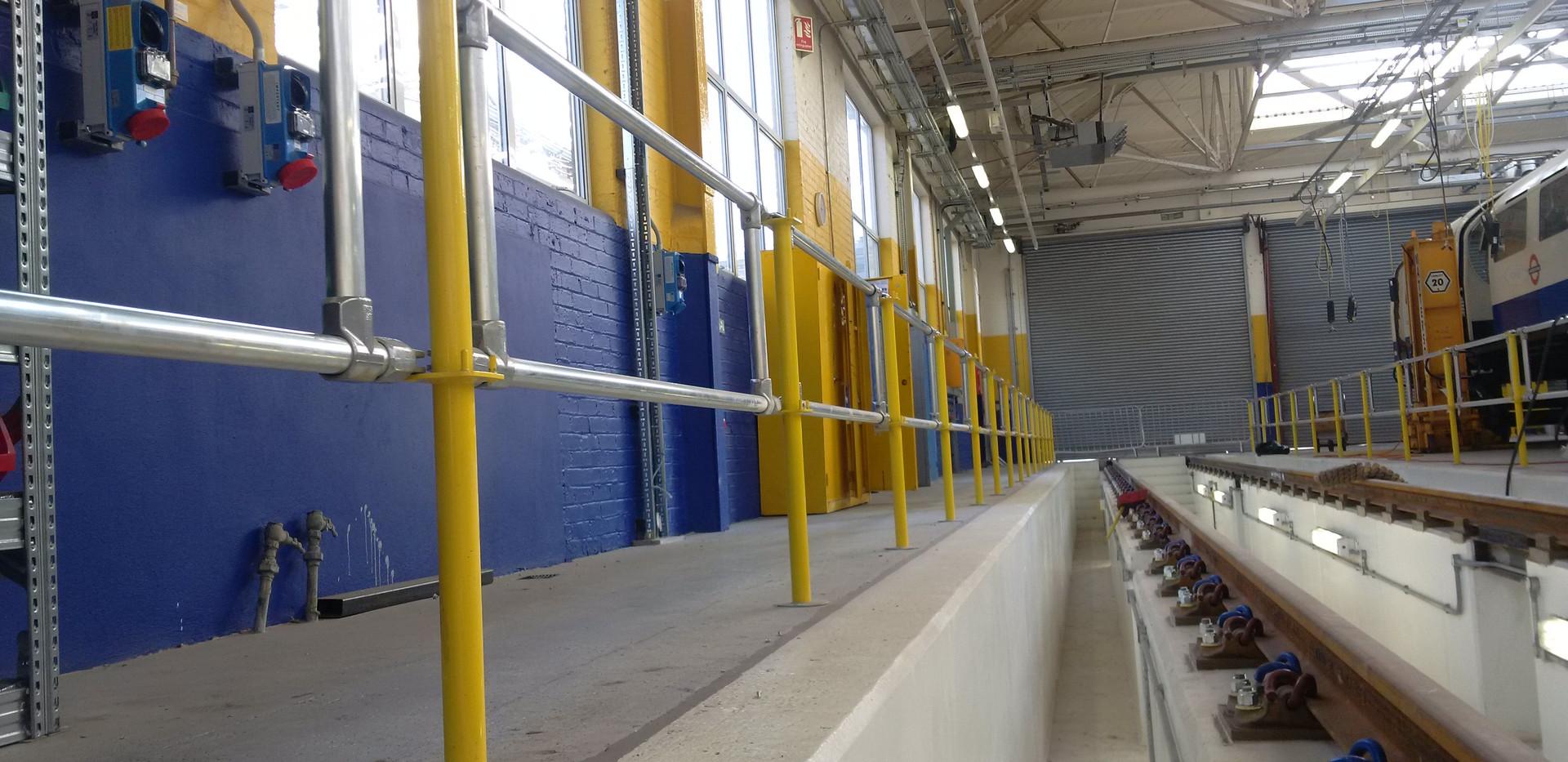 KITE Projects - Acton Depot - KITE Bespoke Maintenance Platforms