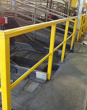 KITE Projects - Stonebridge Depot - KITE Omega GRP Handrail