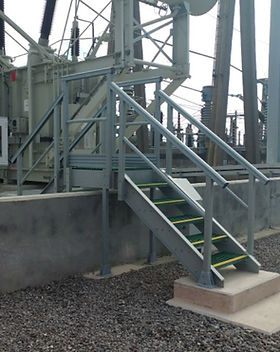 KITE Projects - Hinkley Point - KITE Bespoke GRP Steps