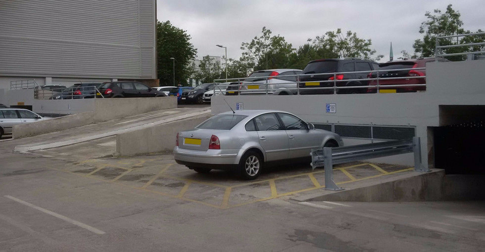 KITE Projects - Winchester Car Park - KITE Clamp Handrail